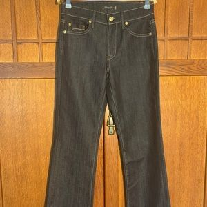 Fidelity Bootcut dark denim jeans